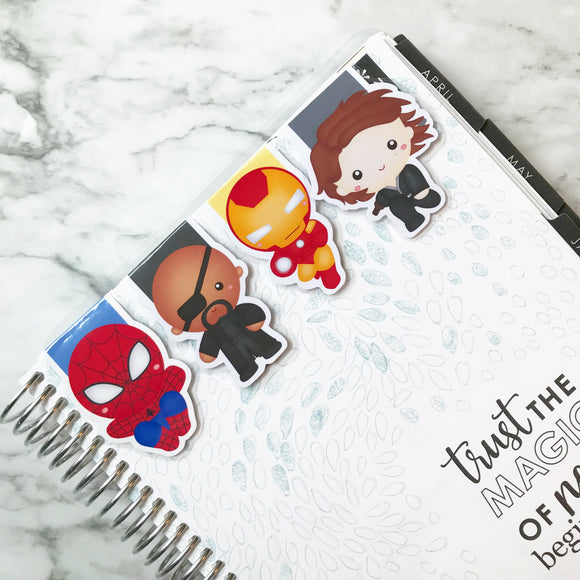 Super Hero Magnetic Bookmark 2