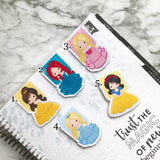 Princess Magnetic Bookmark 2