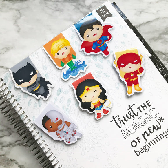 Super Hero Magnetic Bookmark