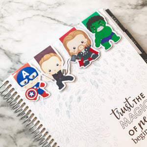 Super Hero Magnetic Bookmark 3
