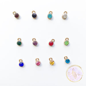 Add On - Gold Mini Birthstone
