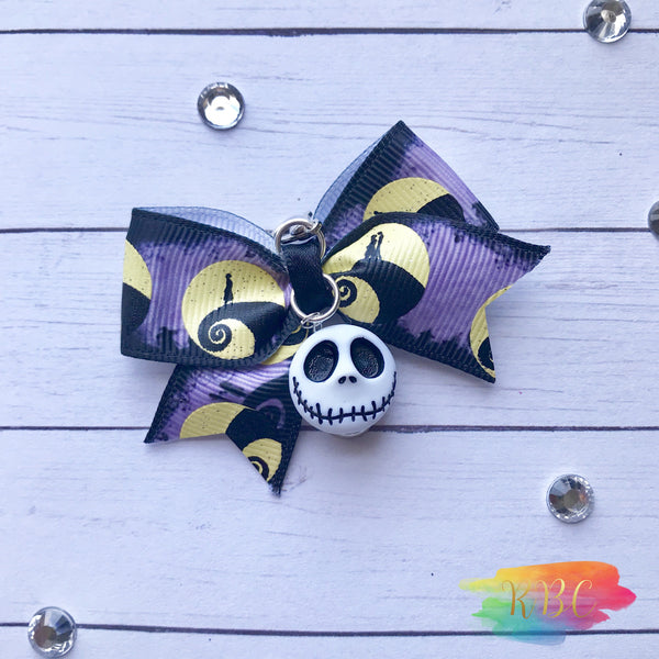 Pumpkin King Bow Charm