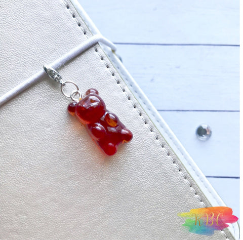 Resin Gummy Bear Charm