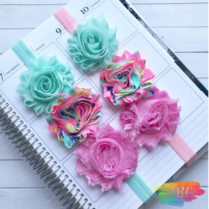 Mint and Pink Planner Band