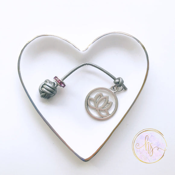 Lotus Charm Planner Tail and Bookmark 7 Sizes