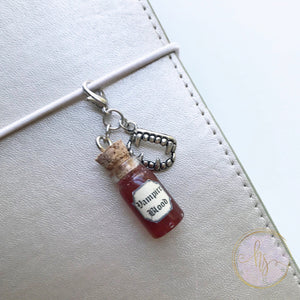 Vampire Bottle Charms