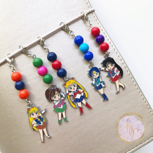 Moon Scout Charms