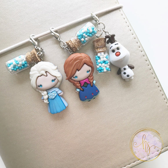 Ice Queen Movie Inspired Charms