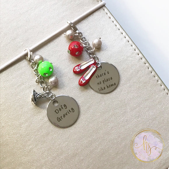 Oz Inspired Planner Charms