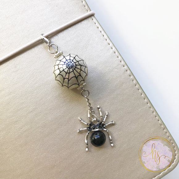 Spooky Spider Charm