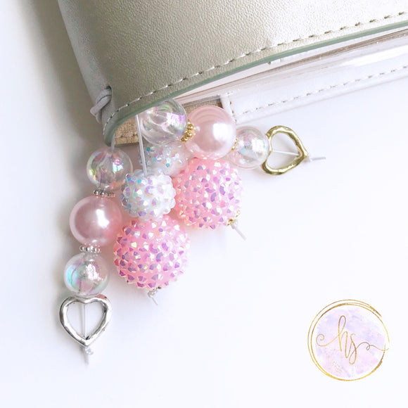 Pretty in Pink Tail and Bookmark - 7 Sizes