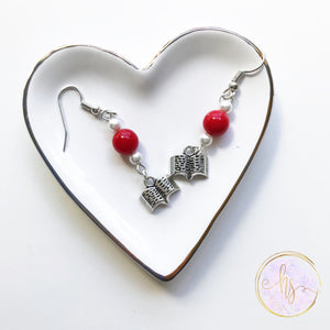 Book Lover Earrings - 20 Colors