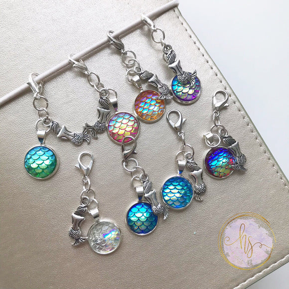 Shimmering Mermaid Scale Charm