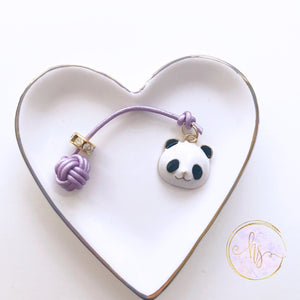 Panda Charm Monkey Fist Planner Tail and Bookmark 7 Sizes