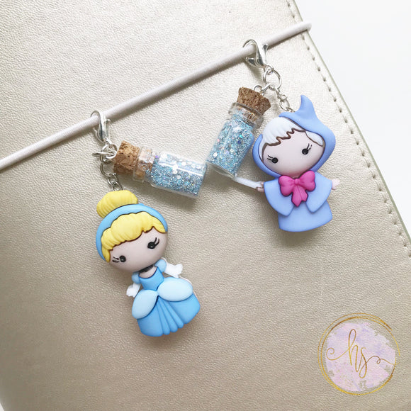 Glass Slipper Movie Inspired Charms