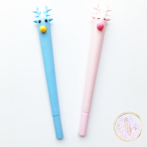 Reindeer Kawaii Gel Pen