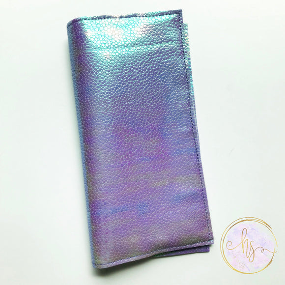 Hobonichi Weeks Cover Purple Faux Snake Skin
