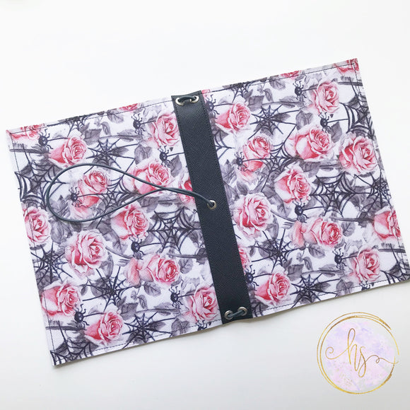 B6 Rose and Spider Traveler's Notebook Cover Ready to Ship