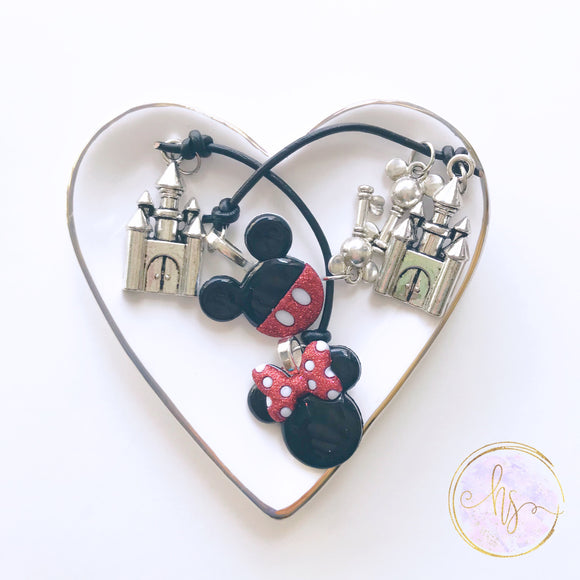 Mouse Castle Cord Bookmark