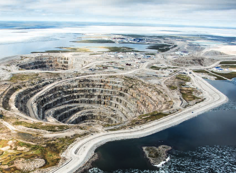Diavik Diamond Mine in Canada