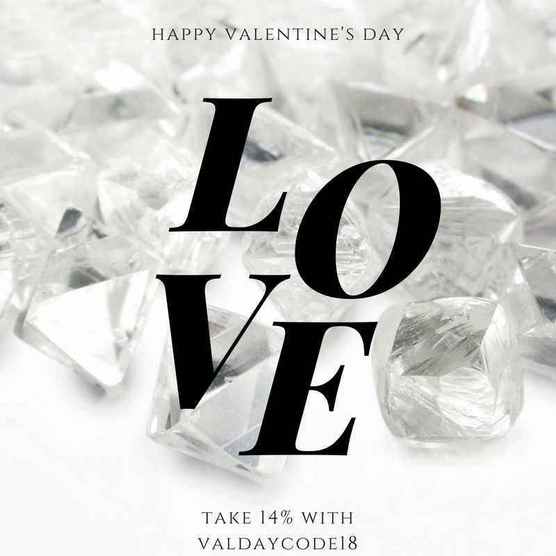 Valentines Day Sale on Rough Diamonds, Sapphires and Engagement Rings