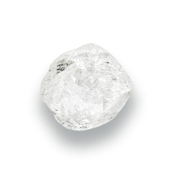 0 40 Carat Fancy White Rough Diamond Dodecahedron The
