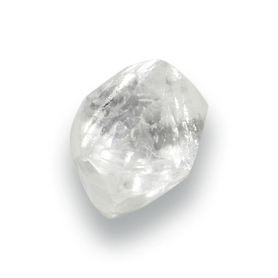 0.42 carat bright white rough diamond dodecahedron Raw Diamond South Africa