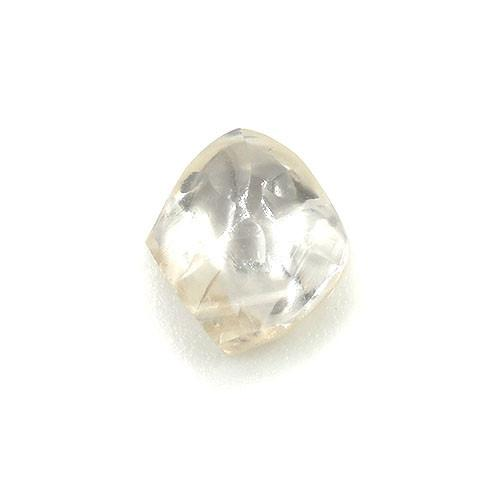 0.47 carat light pink - champagne rough diamond dodecahedron Raw Diamond South Africa