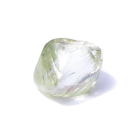 0.72 carat lime green rough diamond octahedron Raw Diamond South Africa