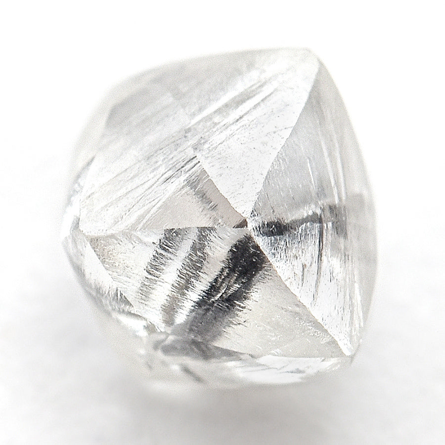 0.83 carat perfectly imperfect raw diamond dodecahedron