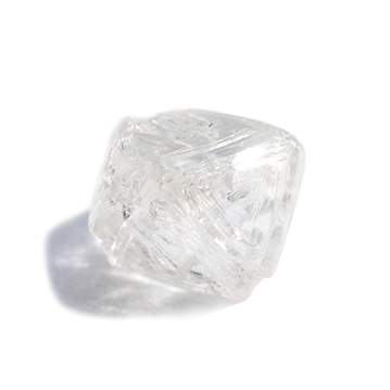 0.88 carat rough diamond octahedron Raw Diamond South Africa