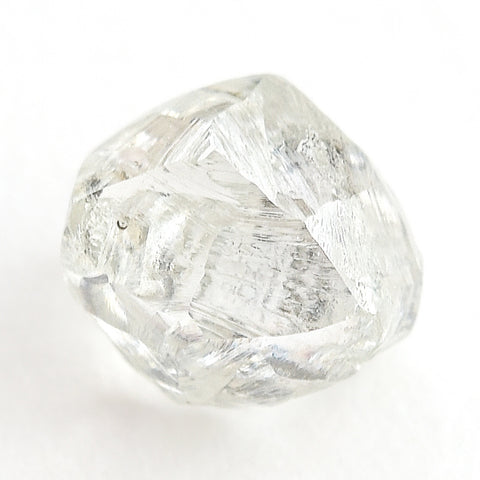 0.89 carat gorgeous alluvial raw diamond dodecahedron