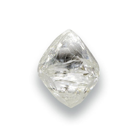 0.95 carat bright white rough diamond octahedron Raw Diamond South Africa