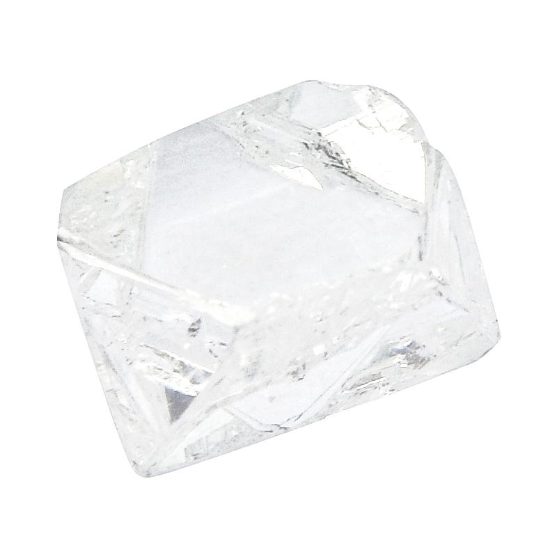 0.97 carat extremely clear and slightly oblong rough diamond octahedron Raw Diamond South Africa