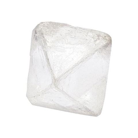 0.86 carat rough diamond octahedron