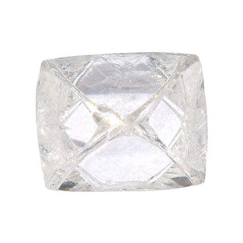 1.0 carat clean and glassy white rough diamond octahedron Raw Diamond South Africa