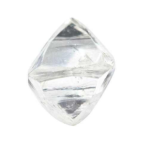 1.0 carat lovely and bright rough diamond octahedron Raw Diamond South Africa