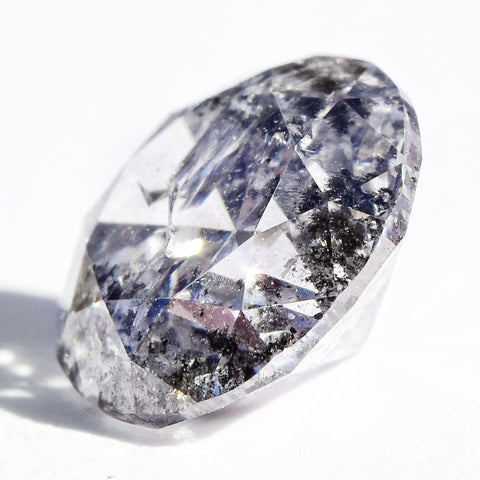 1.02 carat round brilliant salt and pepper diamond Raw Diamond South Africa