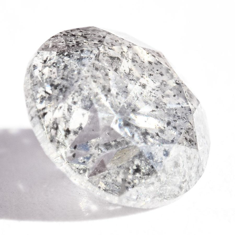 1.02 carat salt and pepper round brilliant natural diamond Raw Diamond South Africa