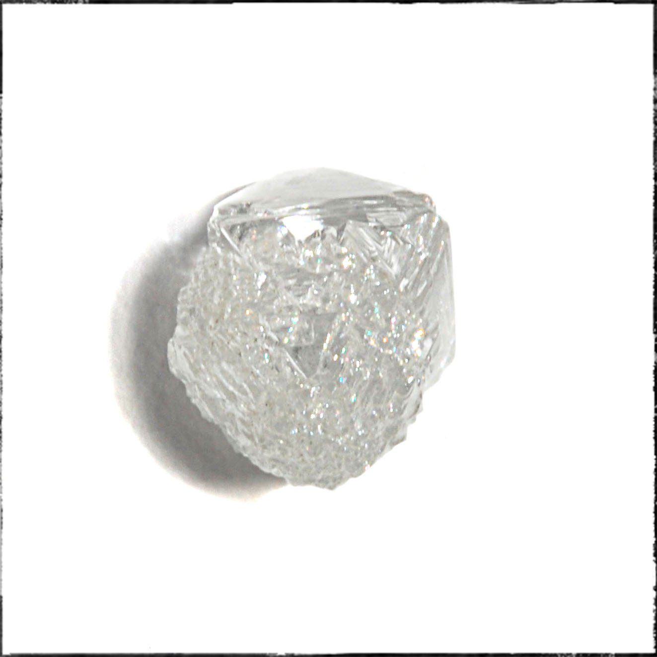 1.08 carat rough diamond crystal Raw Diamond Botswana