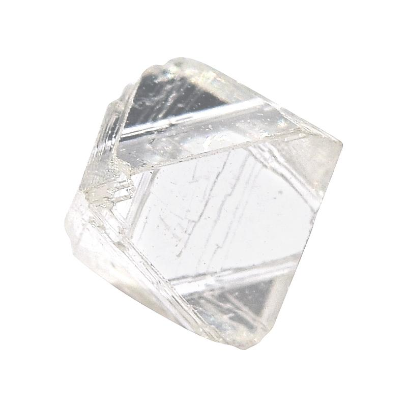 1.1 carat bright, white and clean rough diamond octahedron Raw Diamond South Africa