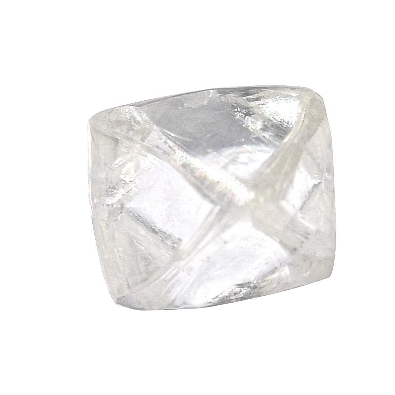 1.1 carat smooth and clear rough diamond octahedron Raw Diamond South Africa