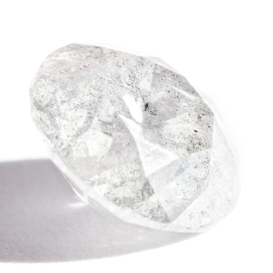 1.18 carat salt and pepper round brilliant natural diamond Raw Diamond South Africa