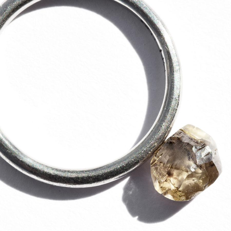 1.20 carat delicate champagne rough diamond freeform crystal Raw Diamond South Africa