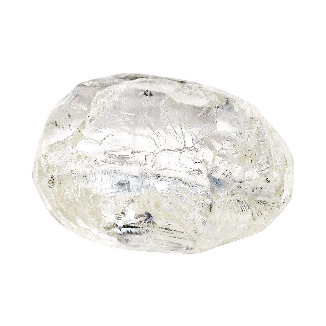 1.34 carat oblong and structured free-form rough diamond crystal Raw Diamond South Africa