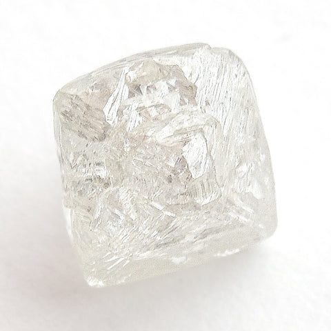 1.35 carat sparkly rough diamond octahedron
