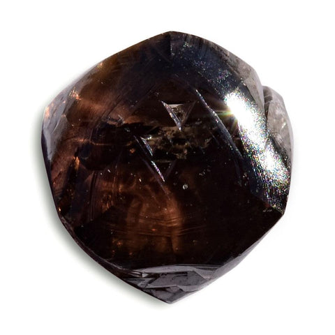 1.36 carat chocolate brown rough diamond octahedron Raw Diamond South Africa