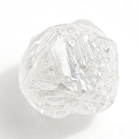 1.48 carat bright and full of light freeform rough diamond