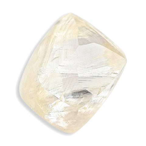 1.50 carat beautiful and clean raw diamond rhombododecahedron