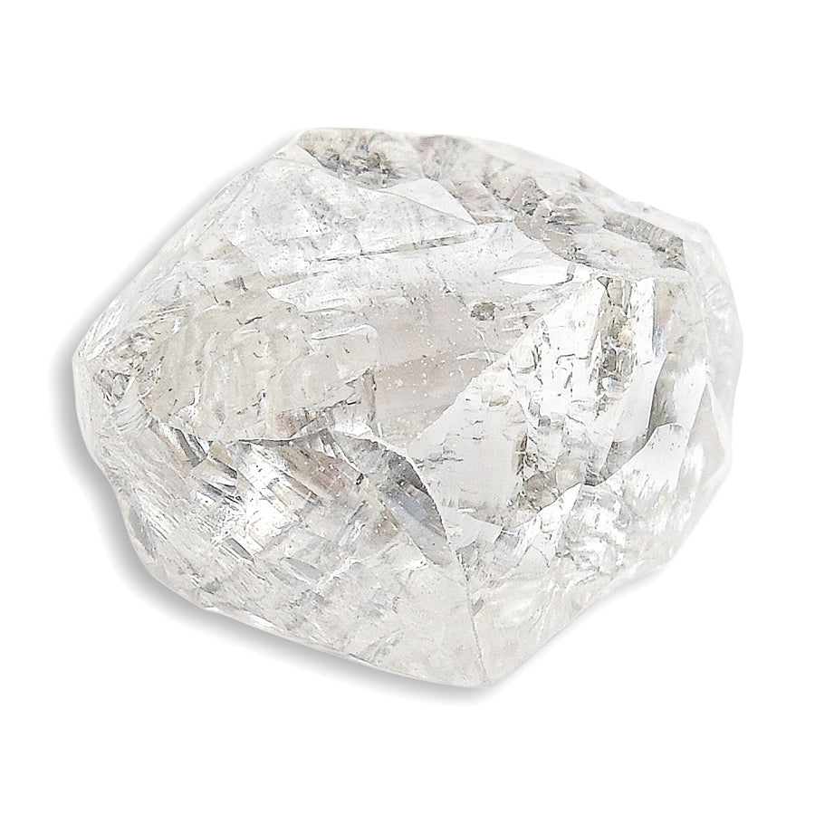 1.64 carat awesome rough diamond dodecahedron